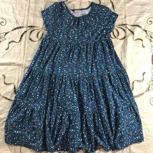 Blue Hanna Andersson confetti dress